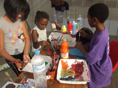 L'atelier de dessin et peinture