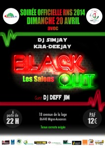 Black Out Fluo Party RNS 2014