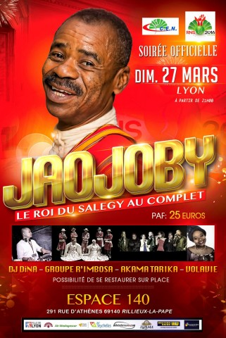 JAOJOBY - SOIREE OFFIC RNS