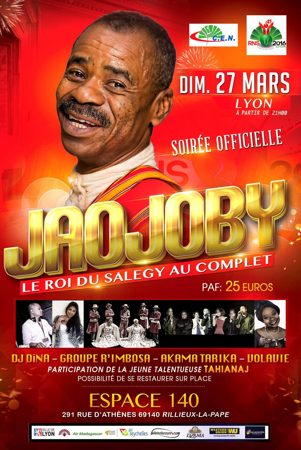 Teaser Vidéo Soirée Orchestre Jaojoby