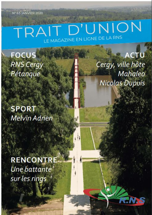 Trait-d'union n°63, le magazine en ligne de la RNS